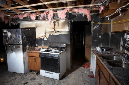 Fire damage repair by Kentucky Disaster Restoration, LLC