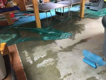 Emergency water removal by Kentucky Disaster Restoration, LLC